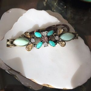 Beautiful rhinestone and crystal bracelet